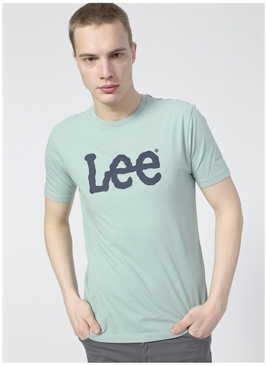 Lee Lee L65QAIQN_Logo T-shirt  Yeşil